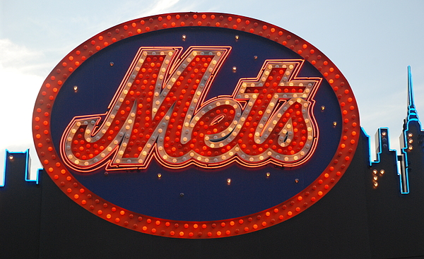New York Mets Photograph - Lets Go Mets by Richard Bryce and Family