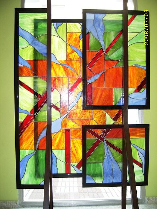 Liberacion Glass Art by Justyna Pastuszka