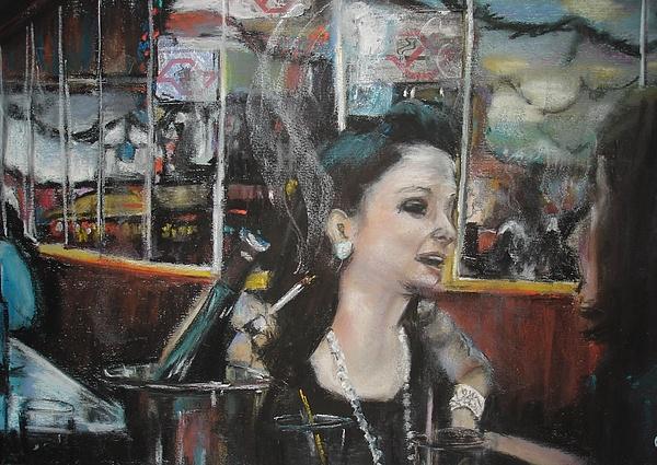 Portrait Pastel - Liberdade by Ana Picolini
