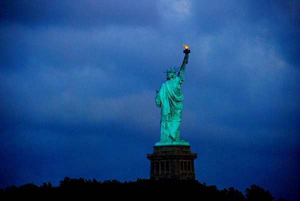 Nyc Photograph - Liberty by Fareeha Khawaja