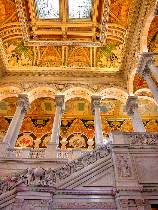 Building Photograph - Library Of Congress II by Steven Ainsworth