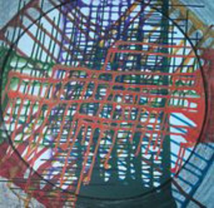 Circle Painting - Life In Circle by Balji Chadha
