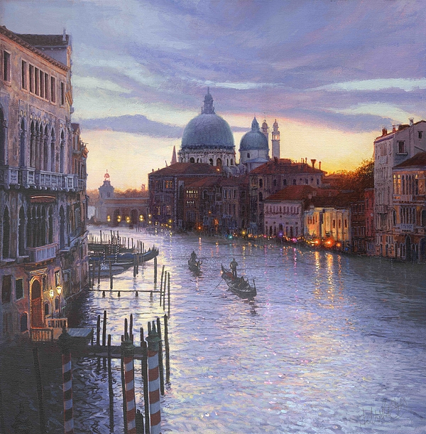 Venice Painting - Life Is Beautiful by Helen Parsley