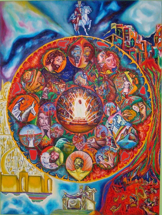 Life Of Christ Painting by Kennedy Paizs