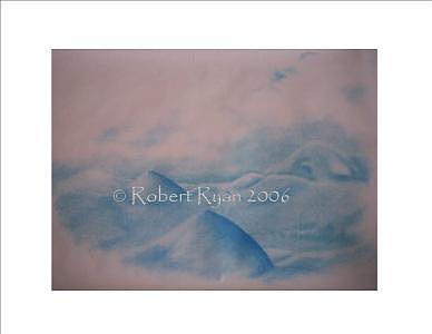 Life Painting - Lifescape - Blue Horizon 2 by Robert Ryan