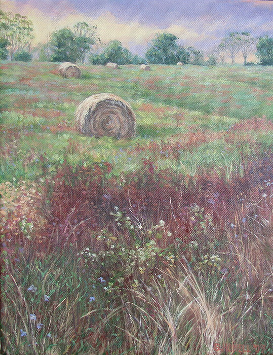 Landscape Painting - Light In August by Stephen Howell