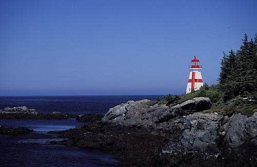 New Brunswick Photograph - Lighthouse - New Brunswick by Catherine Kelly
