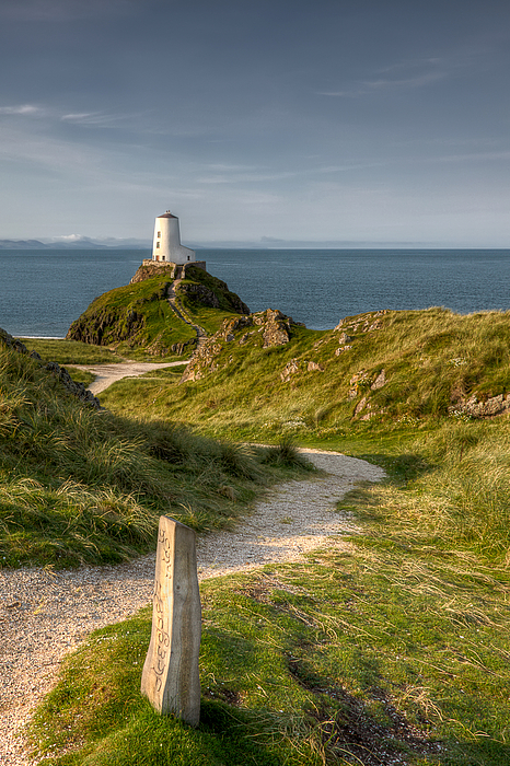 Anglesey Photograph - Lighthouse Twr Mawr by Adrian Evans