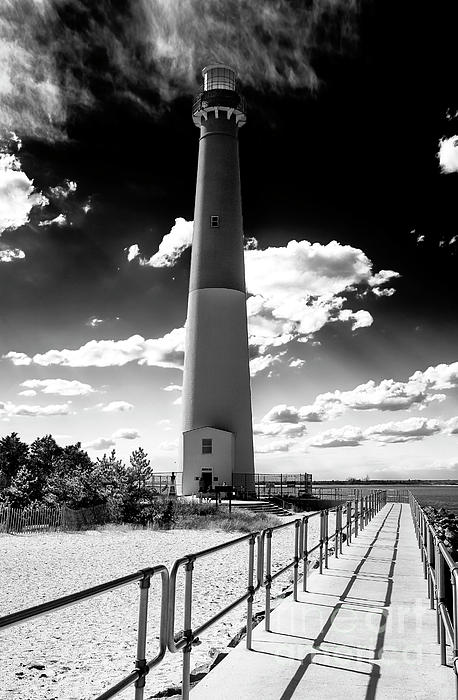Lbi Photograph - Lighthouse Walk by John Rizzuto