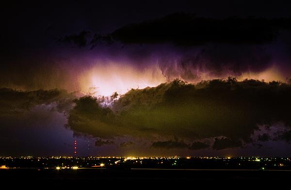 bo Insogna Photograph - Lightning Thunderstorm Cloud Burst by James BO  Insogna