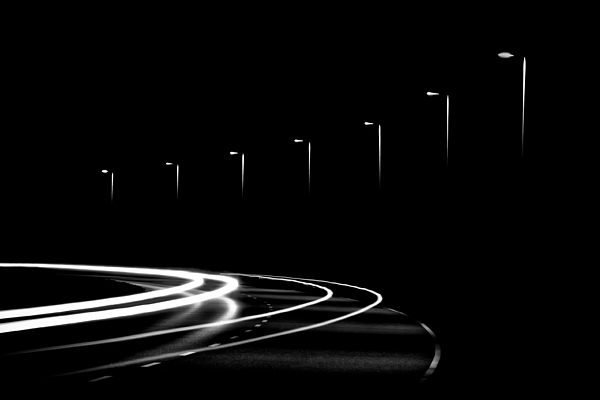 Abstract Photograph - Lights In The Night by Gert Lavsen