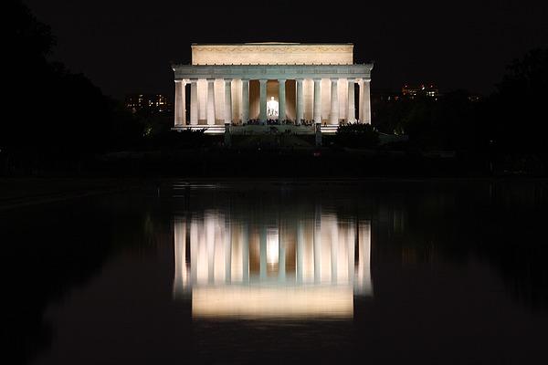 Washington Dc Photograph - Lincoln Memorial by Nancy Ingersoll