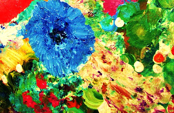 Heart Painting - Lindas Garden by HollyWood Creation By linda zanini