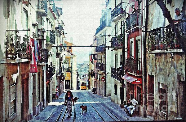 Lisboa Photograph - Lisboa Tram Route by Sarah Loft