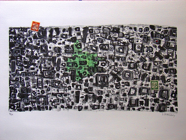Lito2 Painting by X Scherenberg