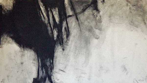 Abstract Expressionism Drawing - Little Laos 7 by Doug Kinsey