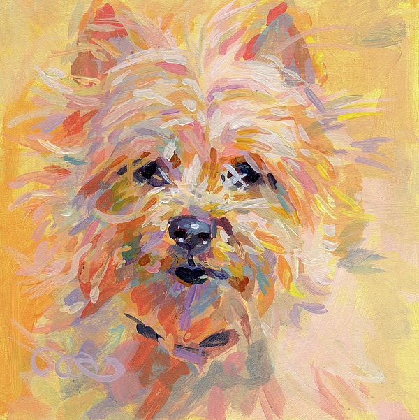 Cairn Terrier Painting - Little Ray Of Sunshine by Kimberly Santini
