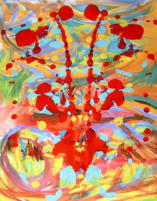Watercolor Painting - Live Watercolor by Alfredo Dane Llana