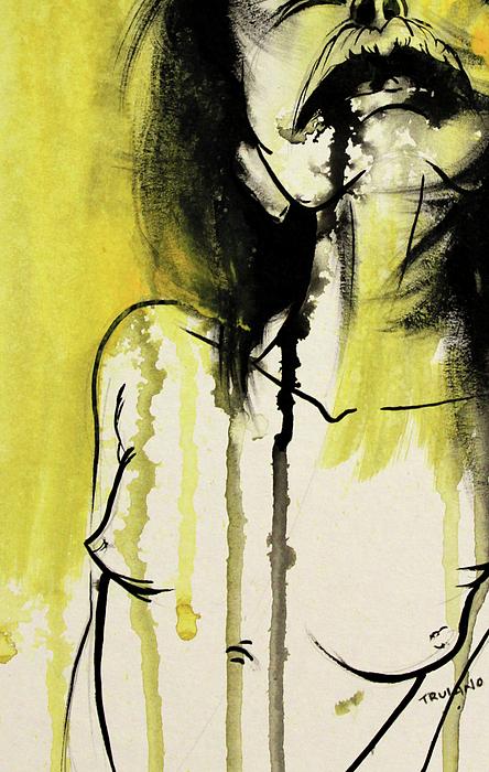 Nude Painting - Liverty by Matt Truiano