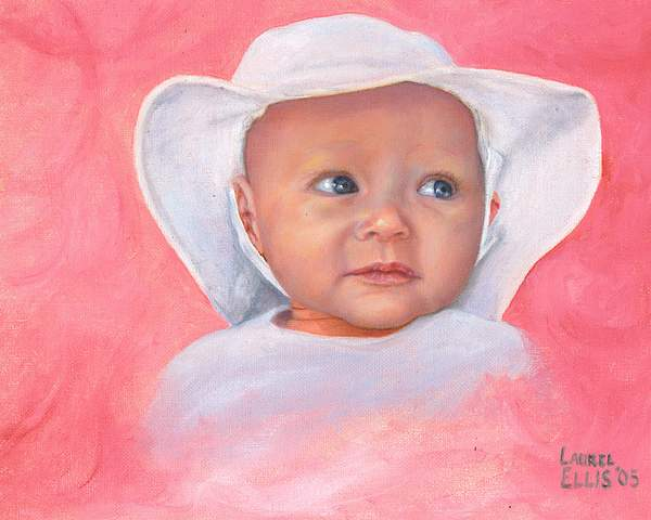 Livi Painting by Laurel Ellis