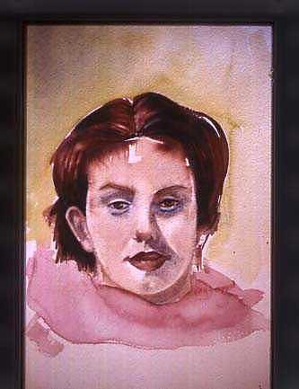 Livia Painting - Livia by Katalin Papp