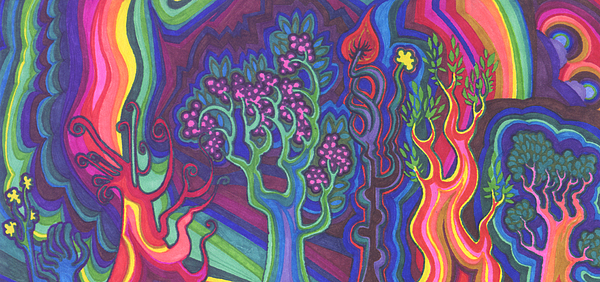 Life Painting - Living Forest by James Davidson