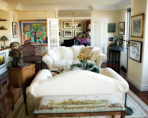 Living Room Photograph - Living Room Iv by Madeline Ellis