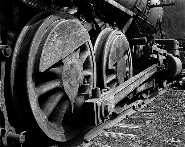 Train Photograph - Locomotive by Joe Bonita