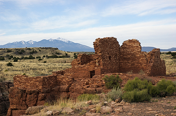 Landscape Photograph - Lomaki Ruins by Lynette Tritel