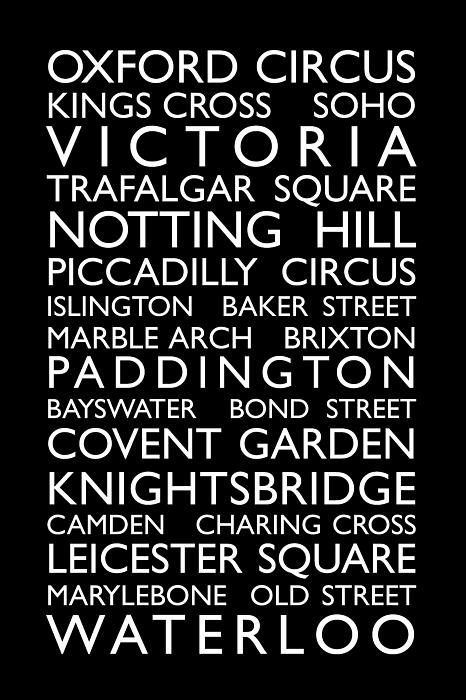 Great Britain Digital Art - London Bus Roll by Michael Tompsett