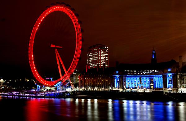 London Photograph - London Eye by Heather Applegate