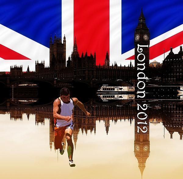 London 2012 Photograph - London Olympics 2012 by Sharon Lisa Clarke