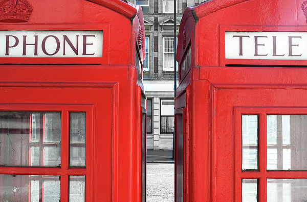 Horizontal Photograph - London Telephones by Richard Newstead