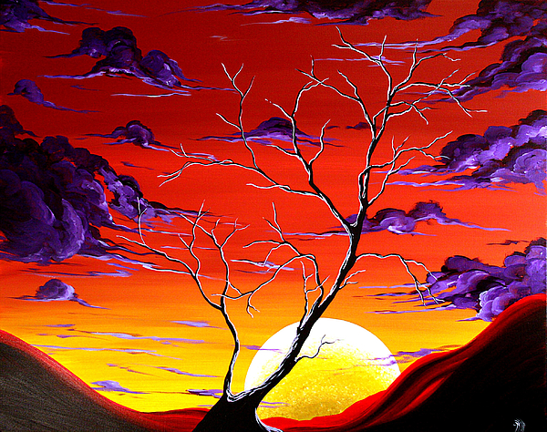 Artwork Painting - Lonely Soul By Madart by Megan Duncanson