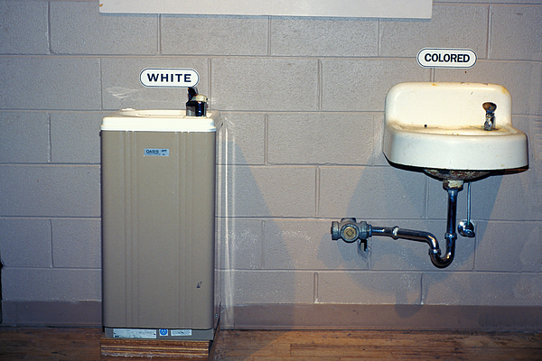 Segregation Photograph - Long Ago And Far Away by Carl Purcell