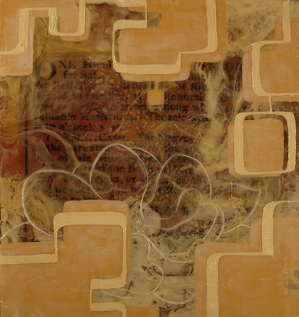 Abstract Painting - Long Gone And Far Away by Monica James