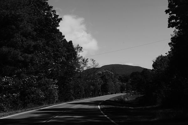 Landscape Photograph - Long Road Home by Billie Stultz