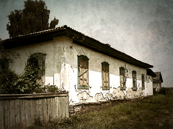 Old Village Photograph - Long Time Ago by Julie Palencia