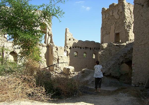 Architecture Photograph - Looking At The Old Ruins by Sunaina Serna Ahluwalia