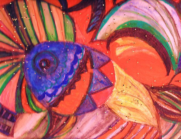 Rainbow Painting - Looking For A Rainbow by Anne-Elizabeth Whiteway