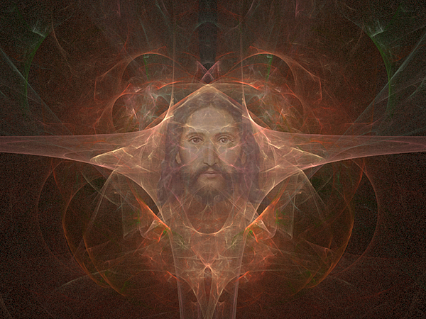 Jesus Digital Art - Looking Out For You by Philip McDonald