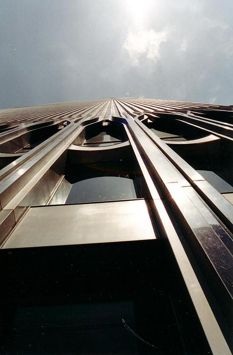 New York Photograph - Looking Up by April Camenisch