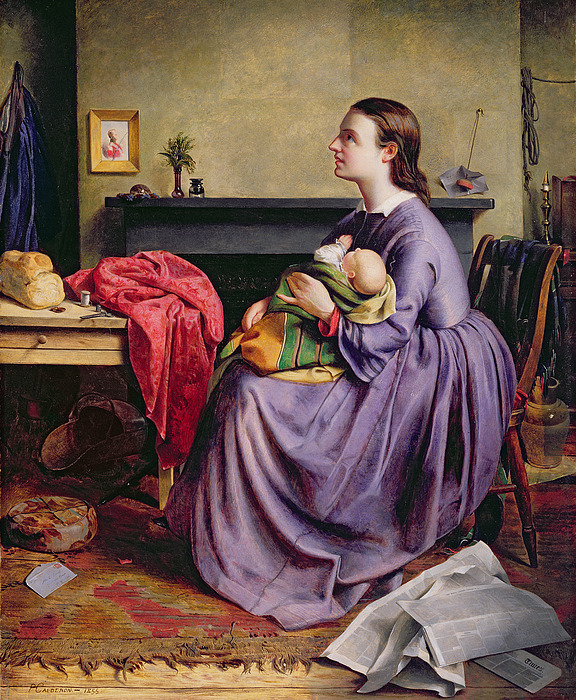 Lord Painting - Lord - Thy Will Be Done by Philip Hermogenes Calderon