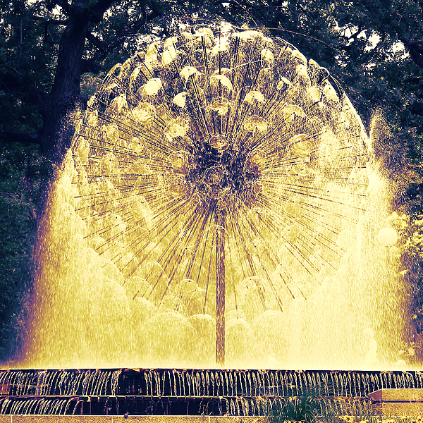 Loring Park Photograph - Loring Fountain by Rashelle Brown