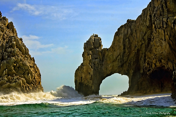 Los Photograph - Los Arcos Waves by Randy Wehner Photography