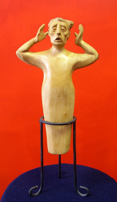 Carving Sculpture - Losing More... by Victor Amor