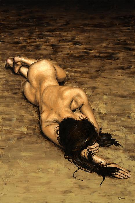Nude Painting - Loss by Richard Young