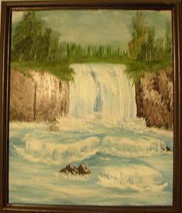 Lost Falls Painting by Florence Hazen