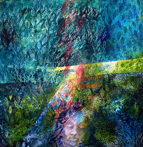 Symbolic Painting - Lost In The Woods by Sue Reed