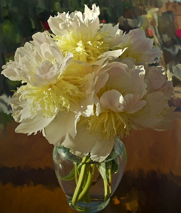 Floral Photograph - Lost Treasures by Gwyn Newcombe